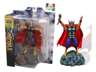 Marvel Select Thor Clasico Figura Articulada Avengers Cf