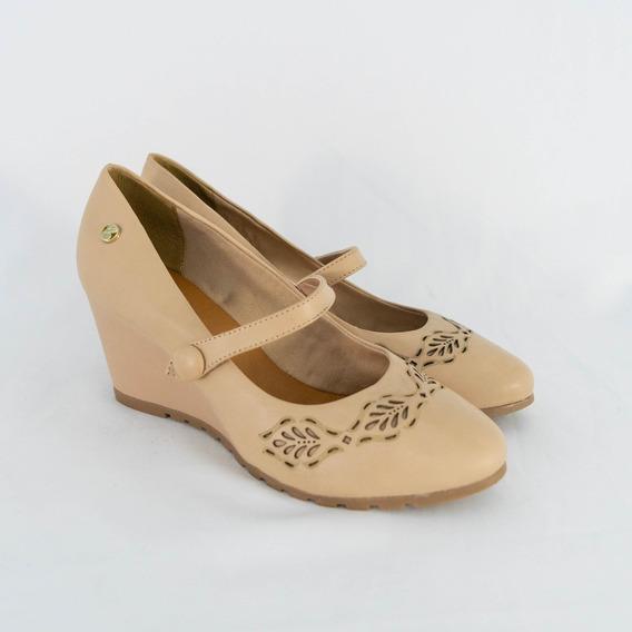 Sapato Bottero 302322 Couro Tanino Creme Islen Calçados