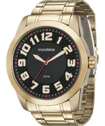 Relógio Mondaine Masculino 99130gpmvde3 Vltrine C/ Garantia