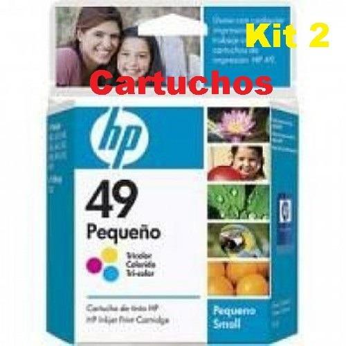 Cartucho 2und Hp 49 Original Color   Officejet 500   Deskjet
