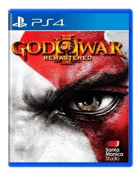 God Of War Iii Remastered Ps4 Mídia Física Pronta Entrega