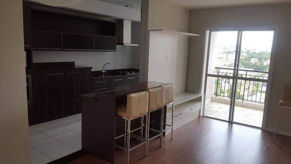 Apartamento Com 2 Dormitórios Para Alugar, Semi Mobiliado Sacada Com Churrasqueira - Ap0260