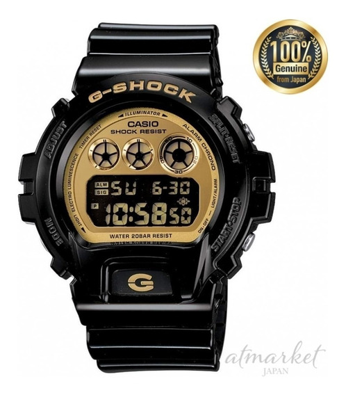 Relógio Casio G Shock Dw6900cb-1ds Digital Preto Original Nf