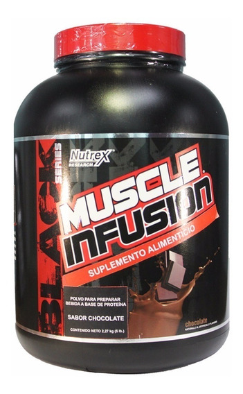 Proteina Nutrex Muscle Infusion 5 Lbs Varios Sabores