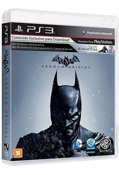 Batman Arkham Origins - Ps3 - Mídia Física