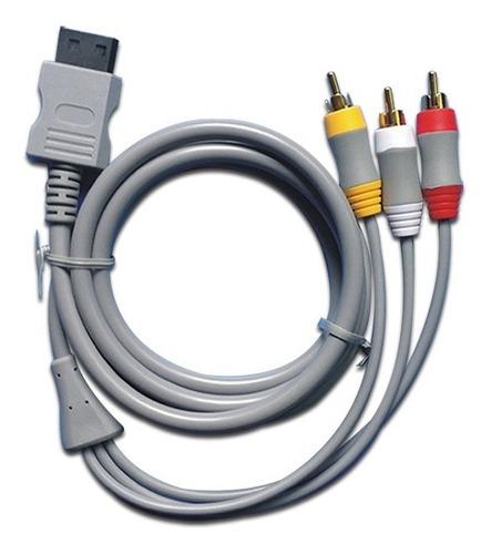 Cable Video Av Rca (audio Y Video) Nintendo Wii