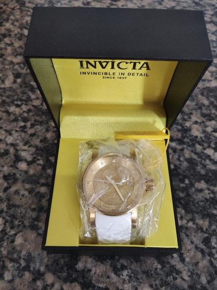Relógio Invicta Yakuza S1 Rally Original Banhado A Ouro
