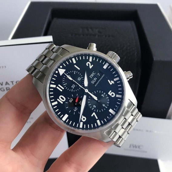 Iwc Pilot Chronograph Full Steel 2019 43mm