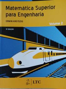 Livro Matemática Superior Para Engenharia Vol. 2 - 9 Edição