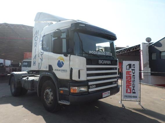 Scania P 114 330 4x2 2000 Motor Novo P330= P340 360 Vw 19320