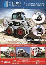 Alquiler De Bobcat Minicargador Con/sin Martillo