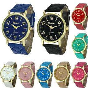 Relógio Casual Geneva Quartz - Cores