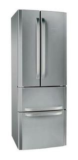 Heladera no frost Ariston E4D X (AG) acero inoxidable con freezer 470L 220V