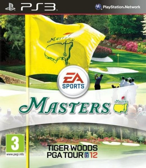 Jogo Masters Tiger Woods Pga Tour 12 Ps3 Mídia Física Golf