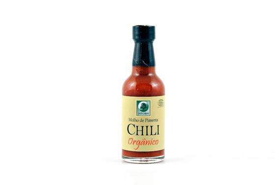 Molho De Pimenta Chili Organico 45ml - Jatoba