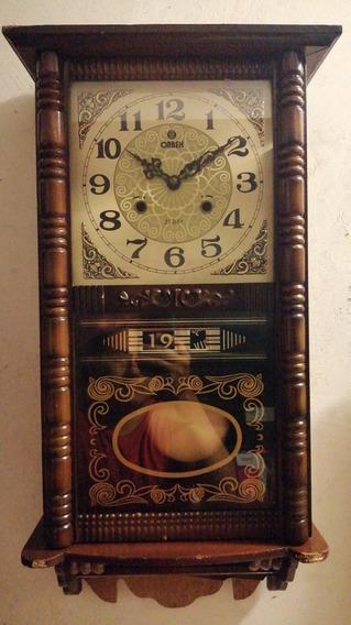 Reloj De Pared Antiguo 40 O 50 Años De Antigüedad