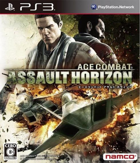 Ace Combat Assaut Horizon Ps3 Psn Digital - Envio Imediato