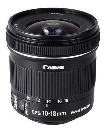 Canon Ef-s 10-18mm F / 4.5-5.6 Is Lente Stm+nota