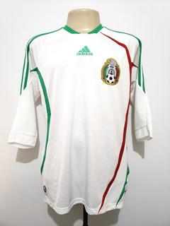 Camisa Futebol Oficial Seleção México 2008 Away adidas M