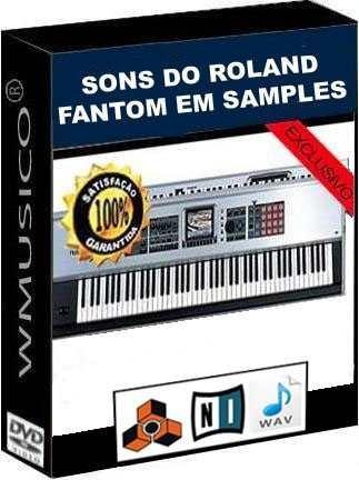 Samples - Sérires Roland Fantom, Yamaha Motif E Korg Triton