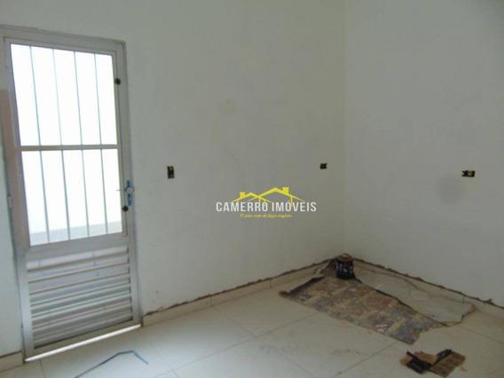 Casa Com 2 Dormitórios Para Alugar, 100 M² Por R$ 850,00/mês - Jardim Das Orquídeas - Santa Bárbara D