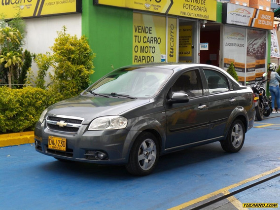 Chevrolet Aveo Emotion 1.6cc Mt A.a