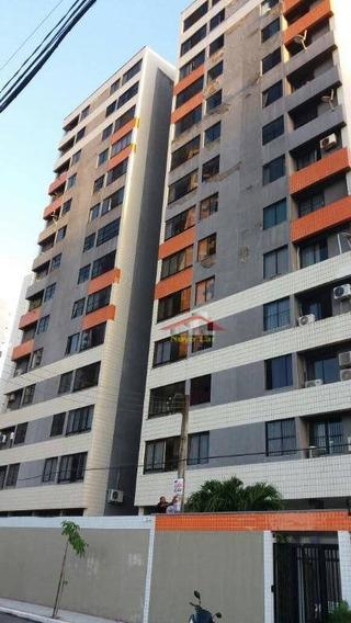 Apartamento Residencial Para Locação, Cocó, Fortaleza. - Ap0554