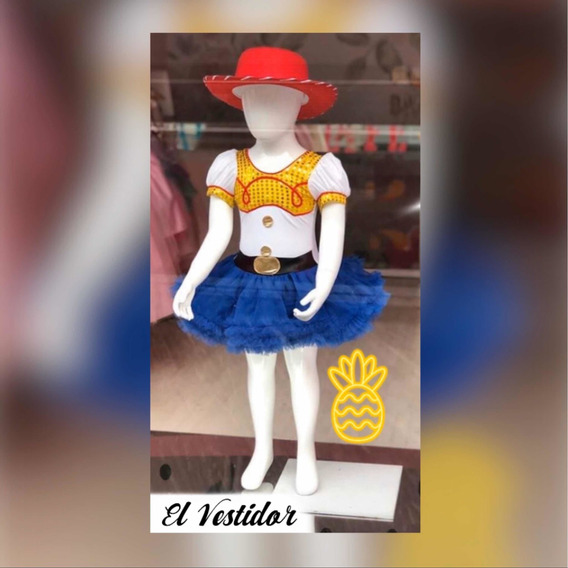 Vestido Jessie Vaquerita Toy Story