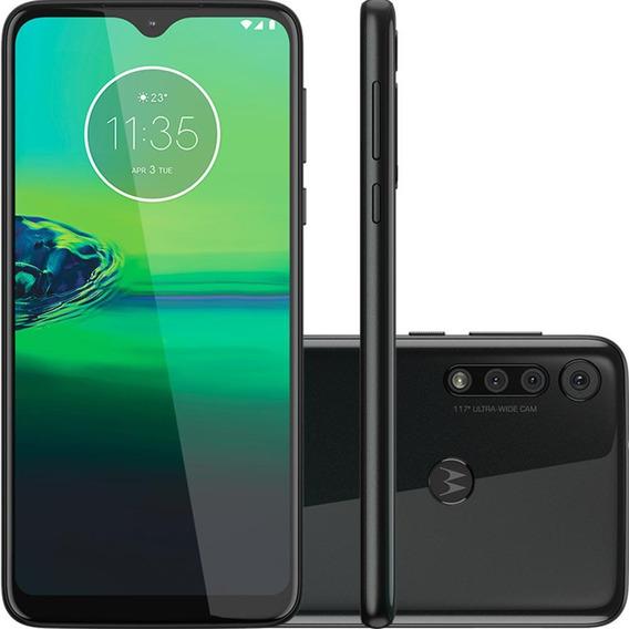 Smartphone Motorola Moto G8 Play, 32gb, Câmera Tripla, Preto