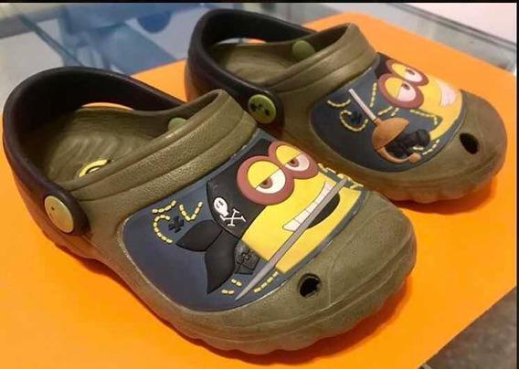 Crocs Diseño Minions