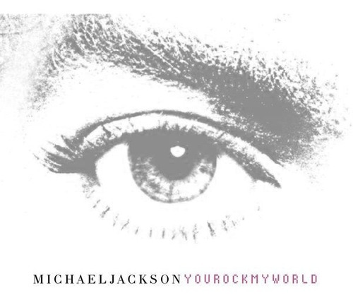 Vinilo Doble Michael Jackson You Rock My World Casi Nuevo