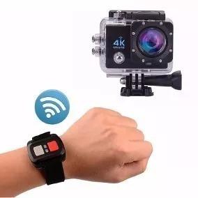 Sports Camera Wifi Prova Dagua 4k Com Controle Remoto