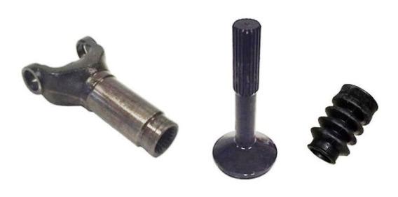 Ponteira E Luva Hilux 2005 Em Diante(cardan Tr.tubo 86mm)