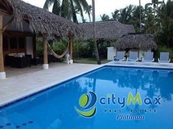 Villa Amueblada En Venta En Playa Coson Las Terrenas