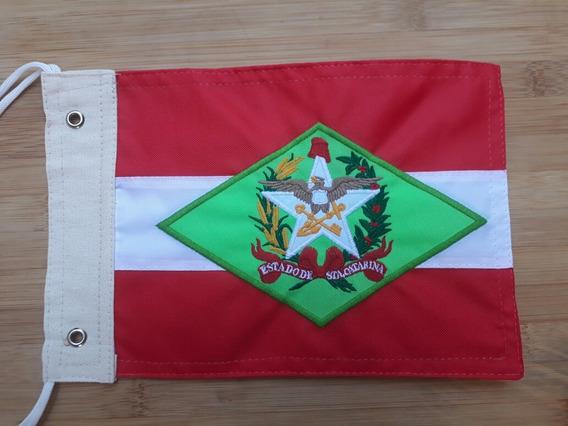 Bandeira Moto Santa Catarina, Bordado Moto Chopper
