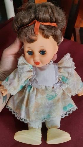 Muñeca Antigua De Coleccion