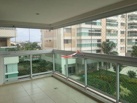 Apartamento Com 4 Dormitórios Para Alugar, 171 M² Por R$ 4.800,00/mês - Barra Da Tijuca - Rio De Janeiro/rj - Ap3734