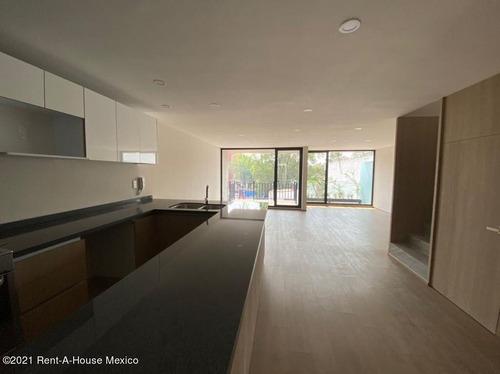 Imagen 1 de 12 de Penthouse En Venta En Del Valle Centro Coyoacan 215014ru