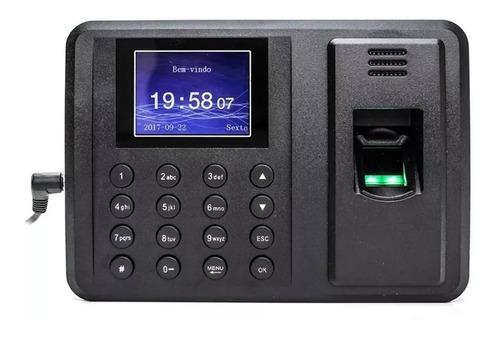Pack 2 Reloj Control Asistencia Biométrico Huella Digital
