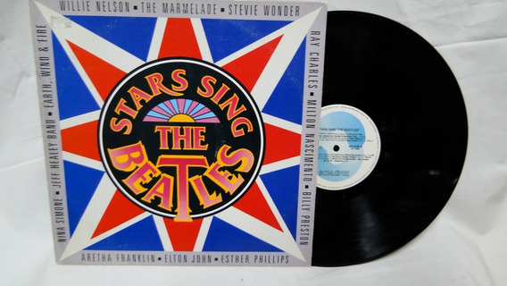 Lp Disco Vinil Stars Sing The Beatles 1994