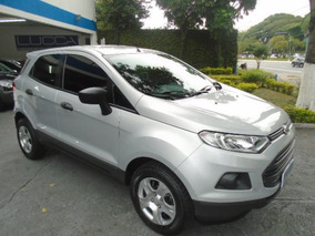 Ford Ecosport 1.6 16v S 2013 Prata Flex