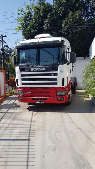 Scania R124 400cv 4x2 Ano 2005 Unico Dono