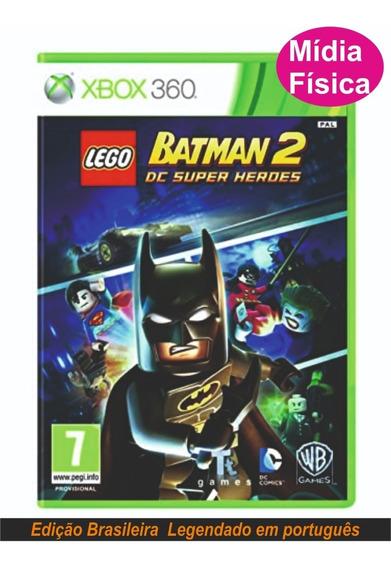 Lego Batman 2 Dc Super Heores Xbox360 (leg. Pt-br) Original