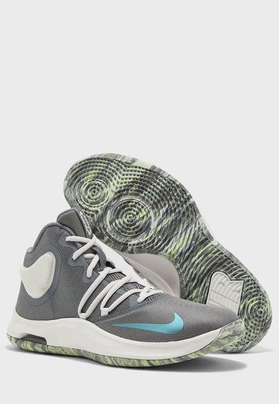 Tenis Nike Air Versitile Iv Gris Blanco 25-29 Originales