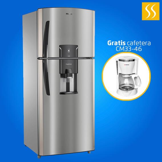 Refrigeradora Mabe 360 Litros Acero Inoxidable Ice Maker