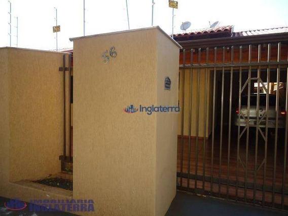 Casa À Venda, 200 M² Por R$ 450.000,00 - Conjunto Cafezal 4 - Londrina/pr - Ca0466
