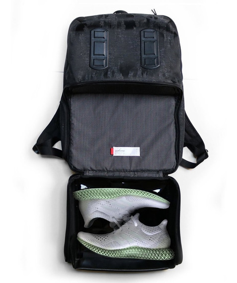 Mochila Shrine Backpack Sneaker Pack Compartimiento Sneakers