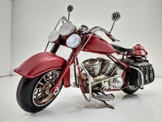 Replica Miniatura Moto Chopera Coleccion