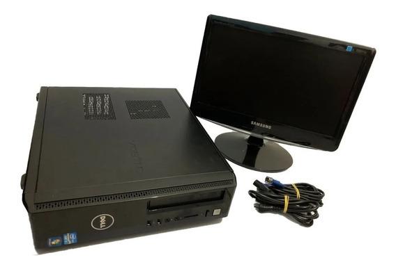 Desktop Cpu - I3 + 4 Gb Ram + Hd 320 Gb + Monitror