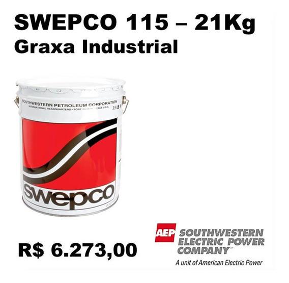 Graxa Fmg Maquinário A. Velocidade Swepco 115 - Tambor 21kg
